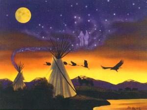 October's Full Moon - The Full Hunter's Moon